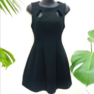 Sheike Super Cool Black Dress with front pockets